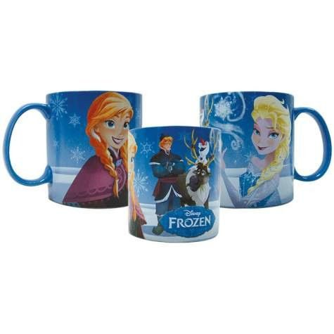 Item Number: 26402 Dimensions: 3.6 x 4.1 x 3.6 inches Westland Giftware Stoneware Mugs have beautiful wrap-around designs of officially licensed characters. Durable stoneware is dishwasher & microwave