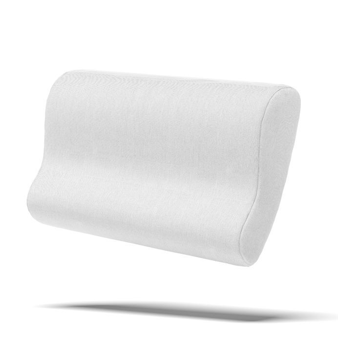 TLC 'Stop Snore' latex pillow - designed to realign your sleep posture for unobstructed breathing. $85.00