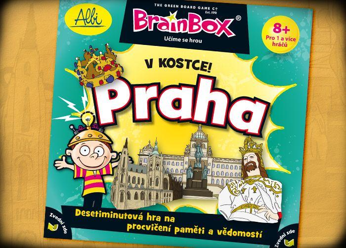 Titulka vzdělávací hry V kostce! Praha
