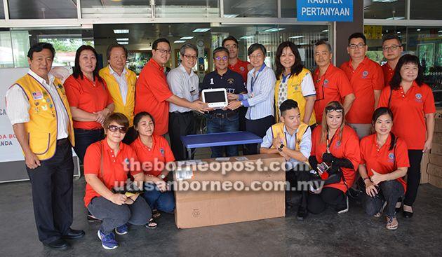 Lions Club donates medical equipment to Sibu Hospital - The Borneo Post