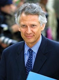 Dominique de Villepin  French politician, and former Prime Minister of France, Dominique de Villepin is a man with vision for the future!