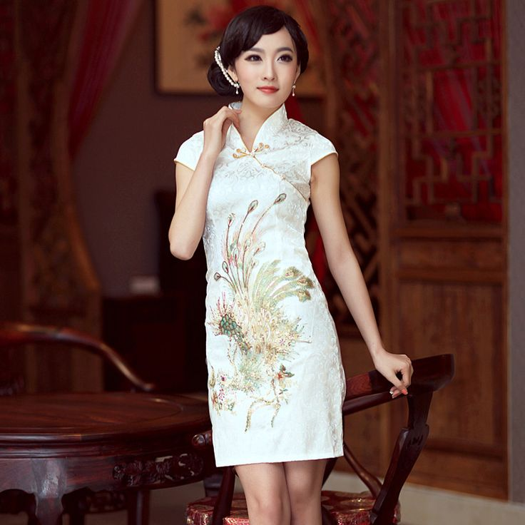 69 Best Images About PEACOCK Qipao On Pinterest