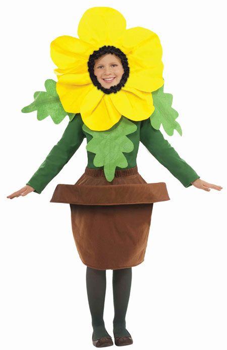 Kid's Halloween Costumes Flower Pot Costume                                                                                                                                                                                 More