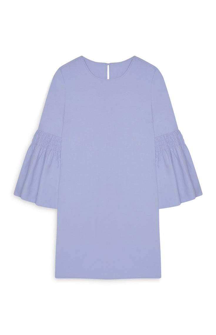 Primark - Robe bleue flûte en chambray