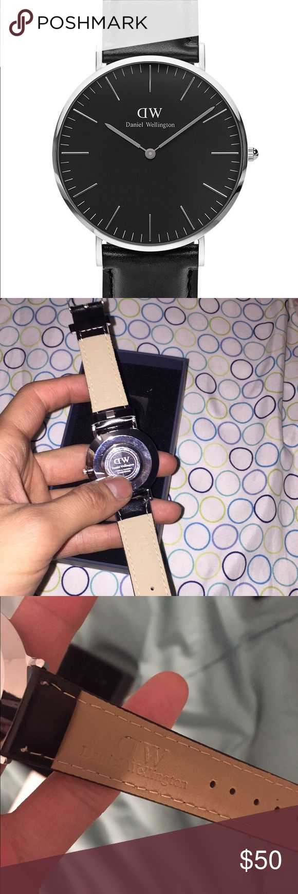 Daniel Wellington Watch Unisex WITH CASE  AS IN PICTURES Daniel Wellington Accessories Watches