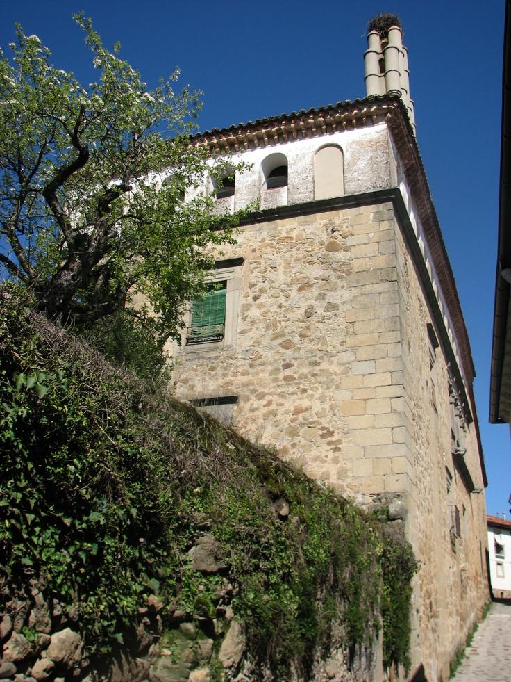 Palacio de los Manrique de Lara, renacentista, sorprendente, precioso. De titularidad privada, eso sí.