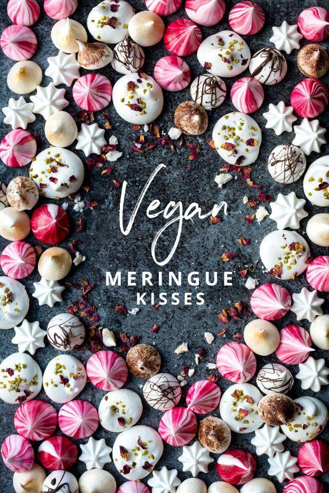 Vegan Meringue Bisous, le parfait petit festin festif