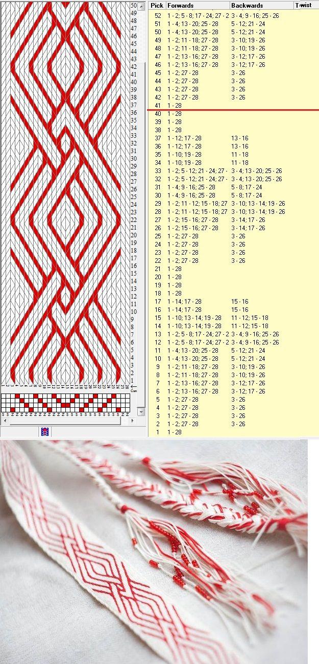 Design by Svetodara Devianart - 28 tarjetas, 2 colores, repite cada 40 movimientos // sed_598 diseñado en GTT༺❁