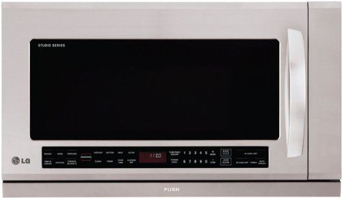 LG Studio Series Stainless Steel Over-The-Range Microwave Oven