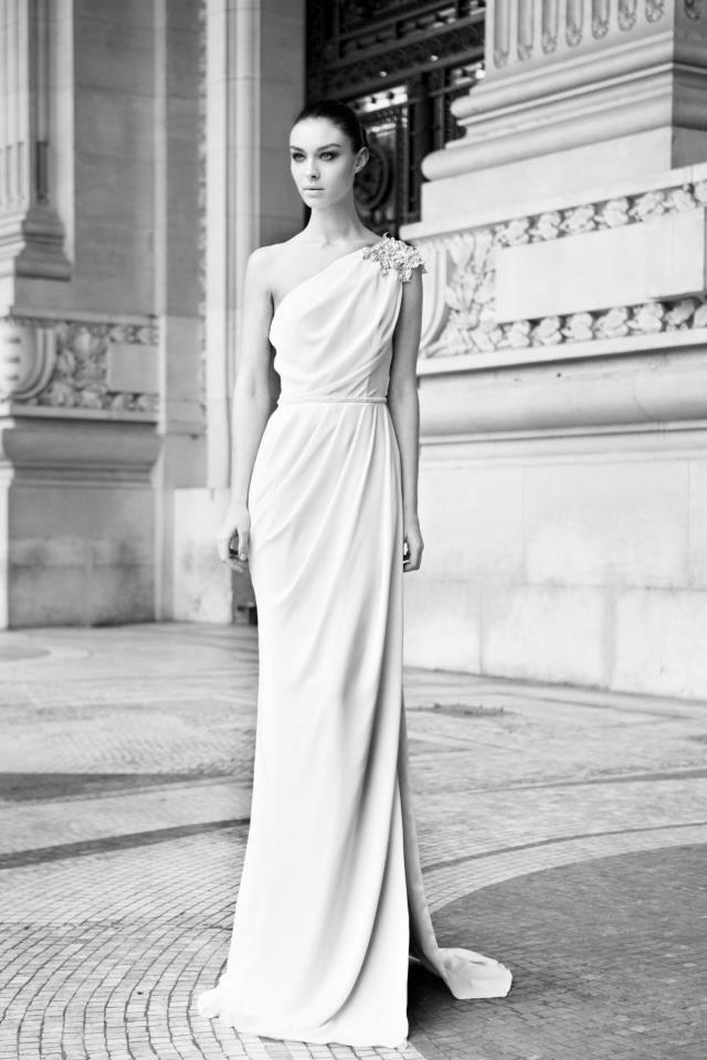 Berta Wedding Dress Greek Goddess style