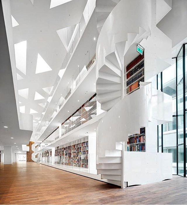 Image 6 Of 15 From Gallery Educational Center Erasmus University Medical KAAN Architecten Photograph By Bart Gosselin