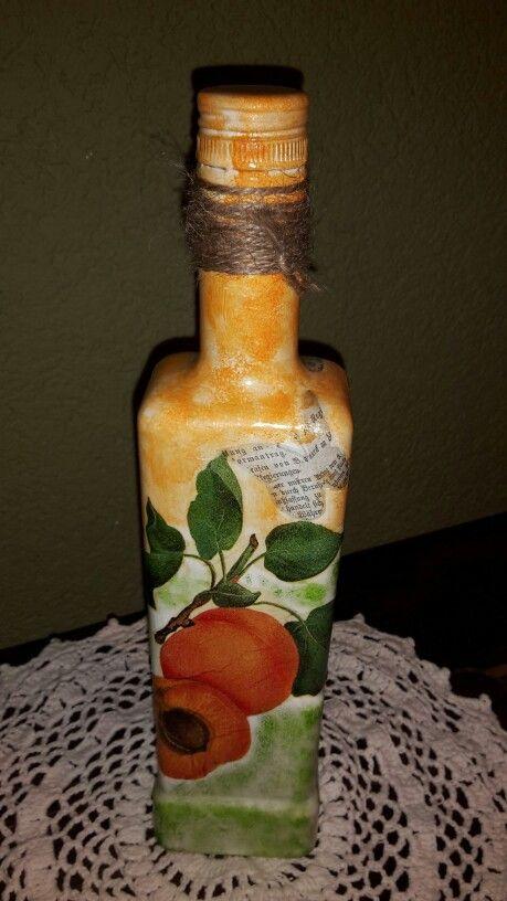 Fľaša na marhuľovicu