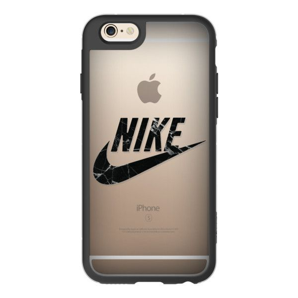 NIKE - BLACK MARBLE - iPhone 6s Case,iPhone 6 Case,iPhone 6s Plus... ($40) ❤ liked on Polyvore featuring accessories, tech accessories, case, iphone case, iphone cases, clear iphone cases, iphone cover case, apple iphone cases and iphone hard case
