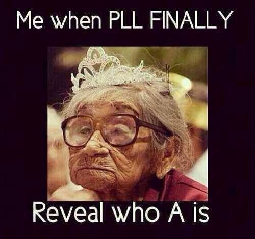 Officially addicted to Pretty Little Liars. So far in Season 3