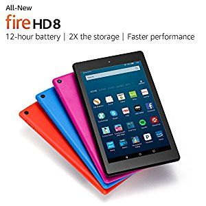 All-New Fire HD 8 Tablet, 8' HD Display, Wi... by Amazon for $89.99 http://amzn.to/2g5r9mf
