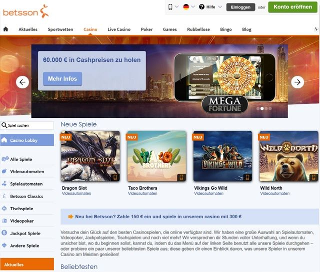 online casino unternehmen