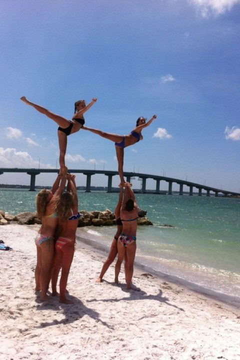 not a cheerleader but that would be cool to do!