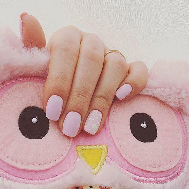 Нежно розовый  дизайн