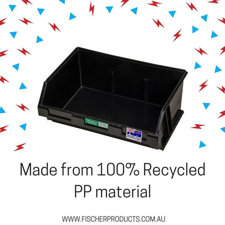 Did you know that our Viro-Paks are produced from 100% recycled tough and durable Polypropylene! They are sustainable and functional.