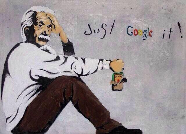 """""""Tired of being slow"""" by Banksy: """"People become lazier and lazier, they would rather google it, than finding the answers from the books!"""""""