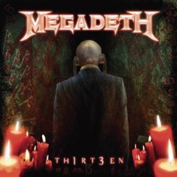 """L'album dei #Megadeth intitolato """"Th1rt3en""""."""