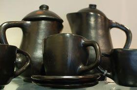 Vajilla de ceramica de La Chamba