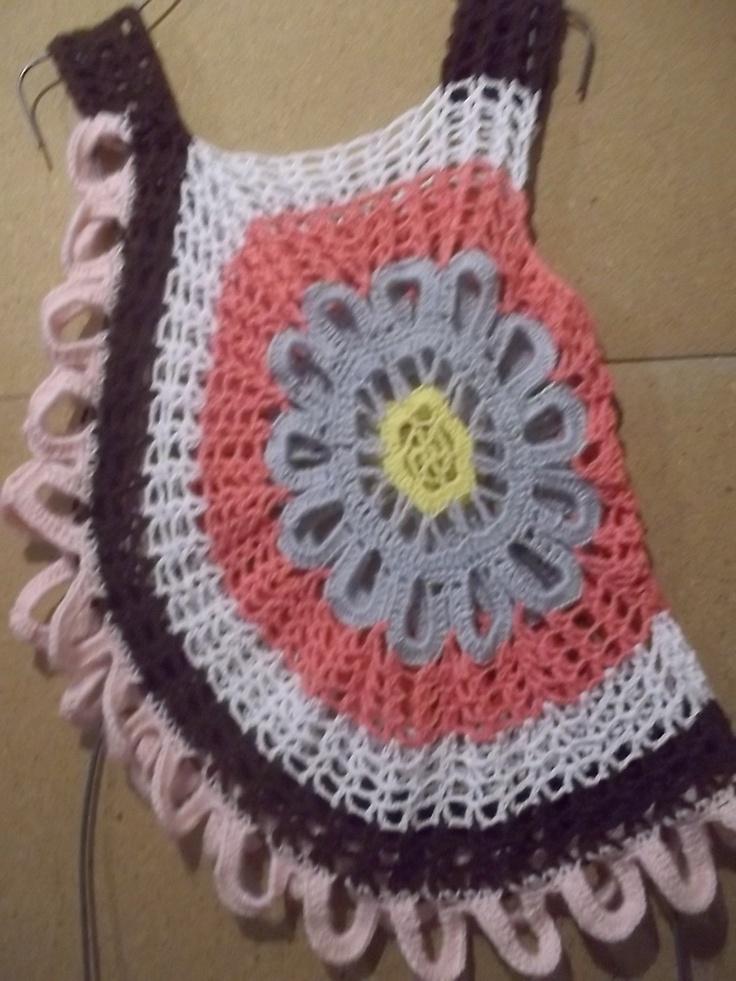 blusa de flor ..