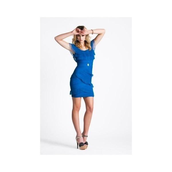 ELLIATT | Electric Blue The Clash Dress via Polyvore: Cocktails Dresses, Clash Dresses, Dresses Electric