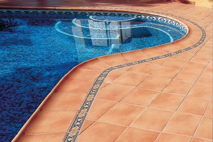 Aldonza borde de piscina y base 31x31 cer mica para for Bordes de piscina