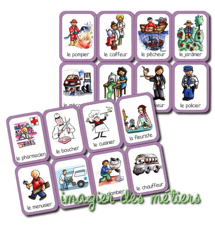 """Voici un imagier à télécharger et à imprimer de 236 images. Il reprend le vocabulaire vu dans les jeux de lotos , dans les jeux de """"J'ai....."""