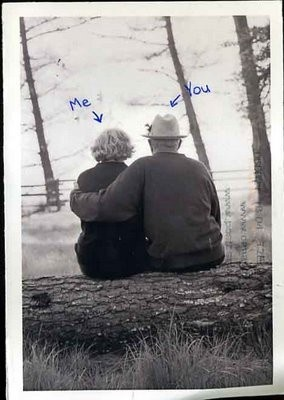 Let's grow old together.