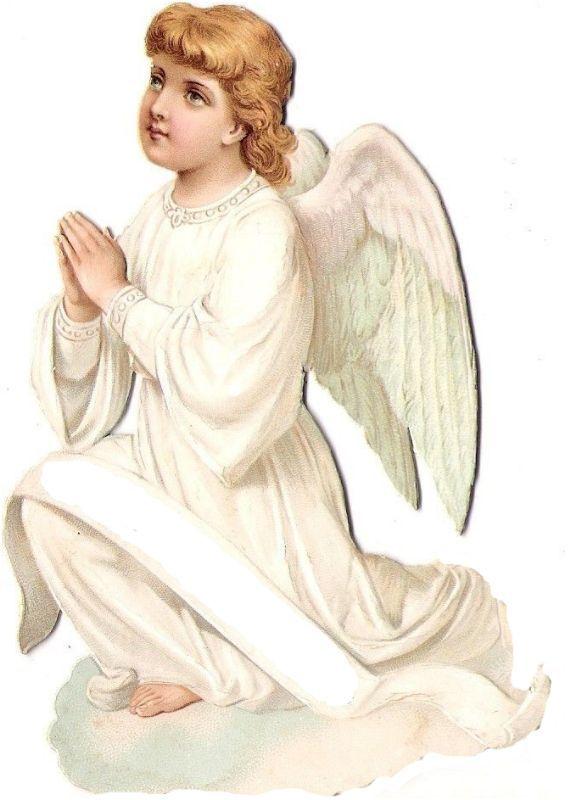 Открытки с ангелами виртуальные