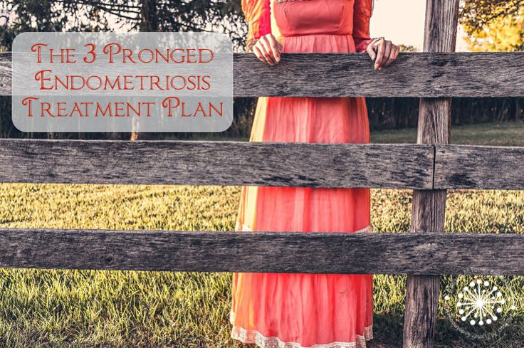 The typical Endometriosis Treatments out there don't really resolve Endometriosis. We can use a 3 pronged endometriosis treatment protocol to get far better results.