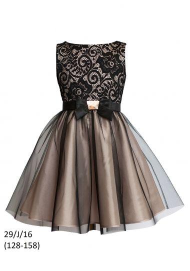 Платье для девочки SLY 26/J/16, цвет Синий