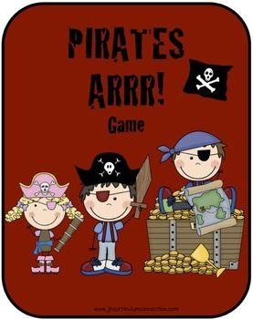 Ce site contient plein d'activités reproductibles gratuites sur le thème des pirates. Super!
