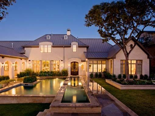 Peachy French House Dream Home Pinterest Lazy River Pool Huge Inspirational Interior Design Netriciaus