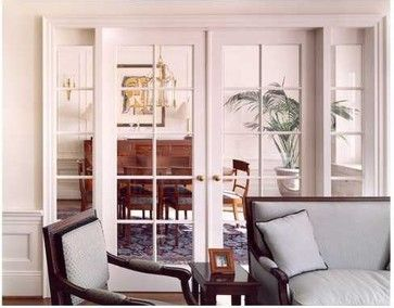 Interior French Doors With Sidelites.for Turning Dining Room Into Office Part 87