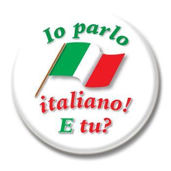 I speak Italian? and you.
