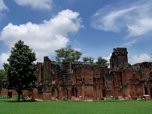 Lucknow Residency Ruins by Saad.Akhtar, via Flickr