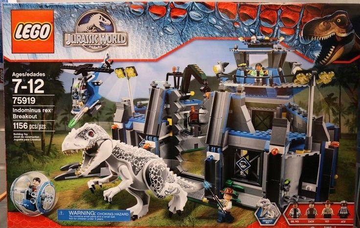New LEGO Jurassic World 75919 Indominus Rex Breakout Set  #LEGO