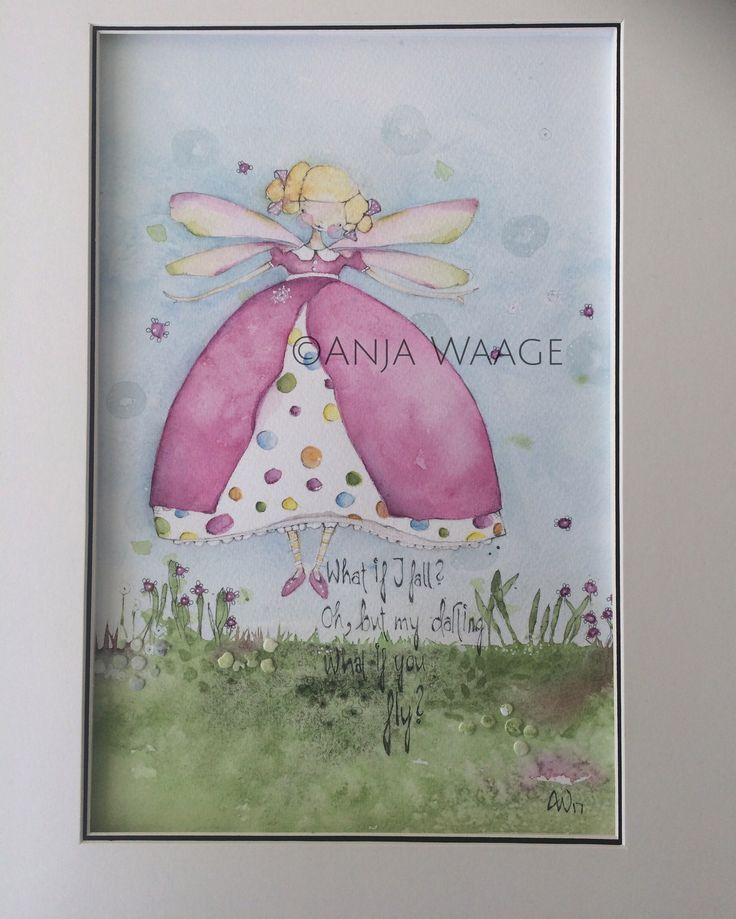 Watercolor by Anja Waage