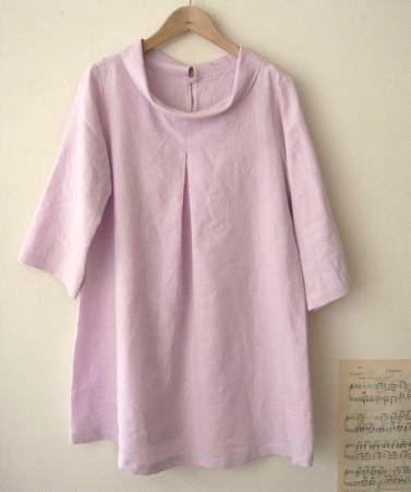 LINNET Linen blouse リネンブラウス