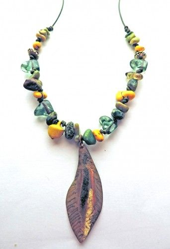Crepundia-inspired necklace