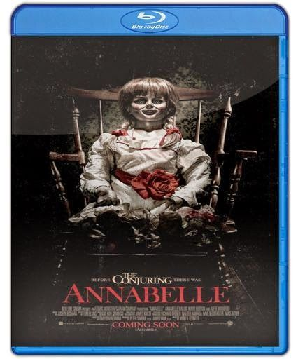 Annabelle 1080p HD Latino  #Free #Movies #Downloads  John Form y Mia son una pareja de recién casados que esperan un bebé y un día John como regalo decide darle una muñeca vintage llamada Annabelle.