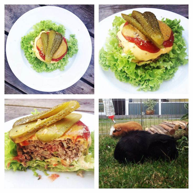 Beuf Lindström meets lchf burger. It was so good!!