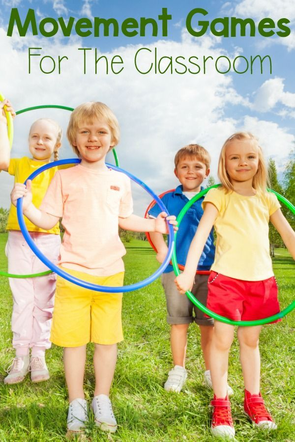Movement games for the classroom! Great gross motor acti ...