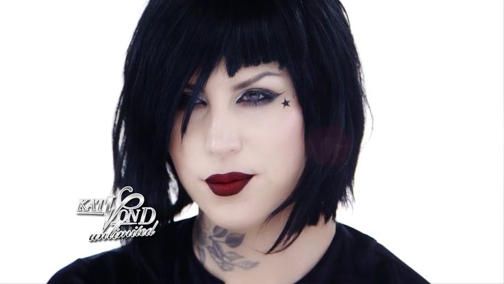 Kat von D upcoming tutorial for new palette! She looks amazing!