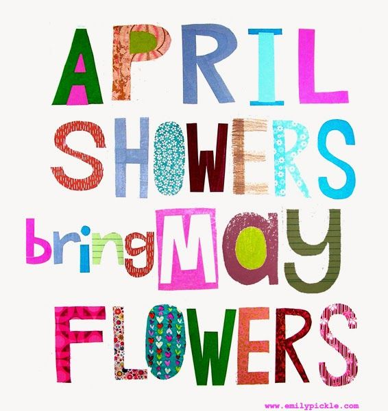 365 days of design - day 86 - April Showers bring May Flowers