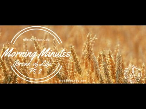 #MorningMinutes  Today's topic: Bread of Life - Pt 2 John 6:1-15 Write this on a card to pray every day: Remember: Combat the lies with life! God open and soften my heart to hear from YOU, Help me to trust in YOU, Help me to keep praying, hoping & watching for YOUR hand in my life  https://www.facebook.com/healthymindsetcafe/