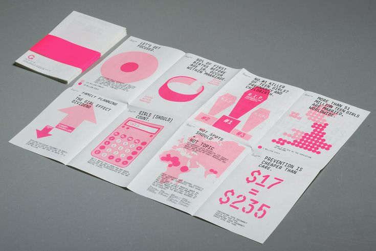 project by the London based design studio Accept and Proceed in support of The Girl Effect.